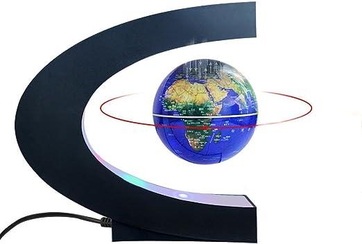 Map Globe World C Shape Base3 Floating Magnetic with Levitation 0mnw8N