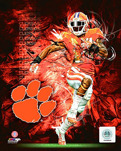 "Clemson Tigers Football Player Composite Photo (Size: 8"" x 10"")"