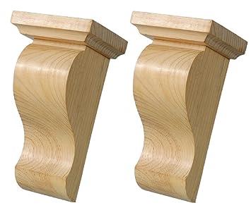 Wild Goose Carvings Zen Hand Made Wooden Corbels Medium Size