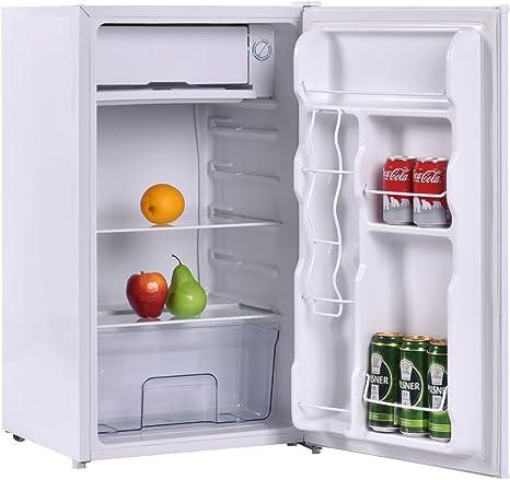 Frigorífico con congelador para bebidas, capacidad de 90 litros ...