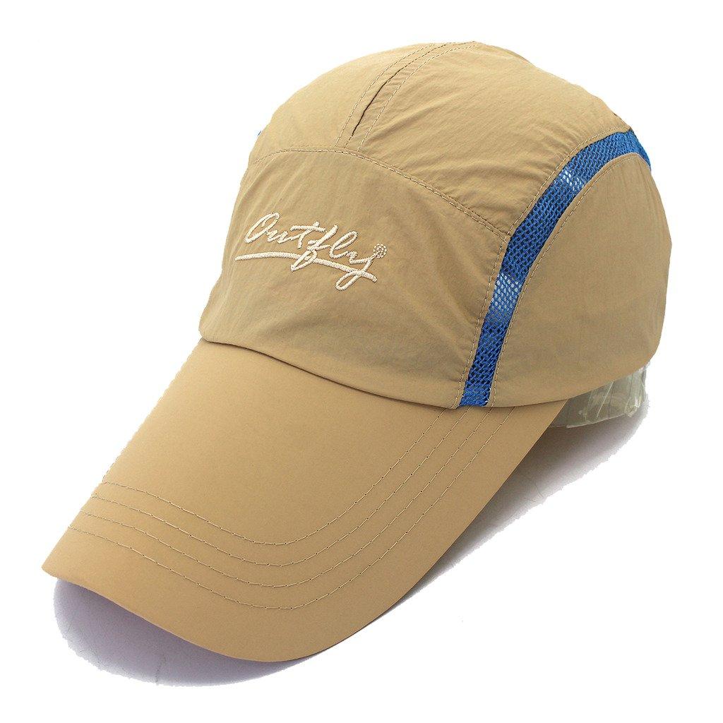 Mens Outdoor Waterproof Quickdrying Long Bill Golf Cap Sun Hat