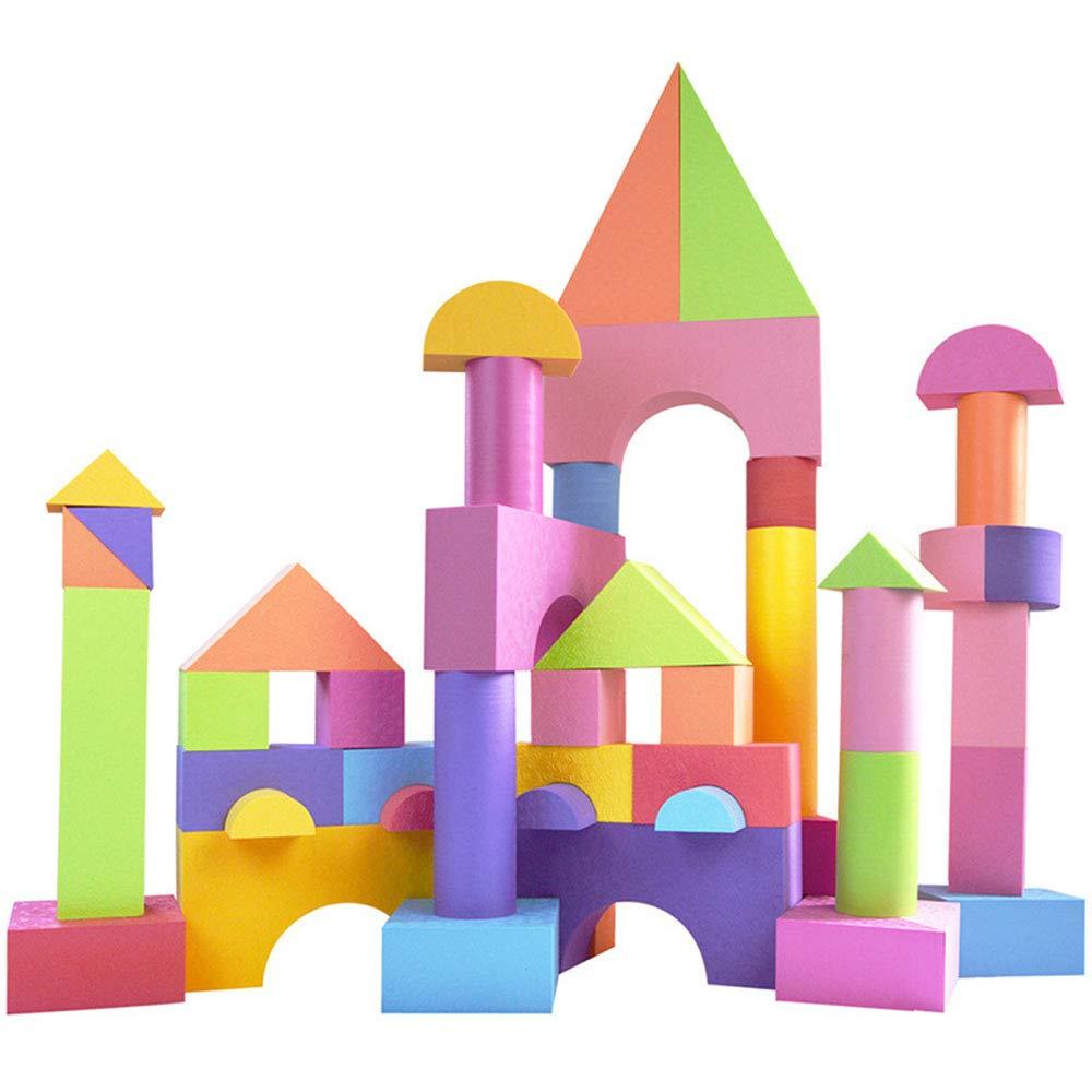 特売 子供の教育玩具、城のブロック 無毒と無味 大きなブロック 無毒と無味 ビルディングブロックの48個 パズル(2歳以上の子供) B07L342STR B07L342STR, JUSTJAPAN:33dc66ab --- a0267596.xsph.ru