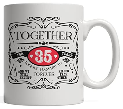 Amazoncom 35th Anniversary Relationship Or Marriage Gift Thirty