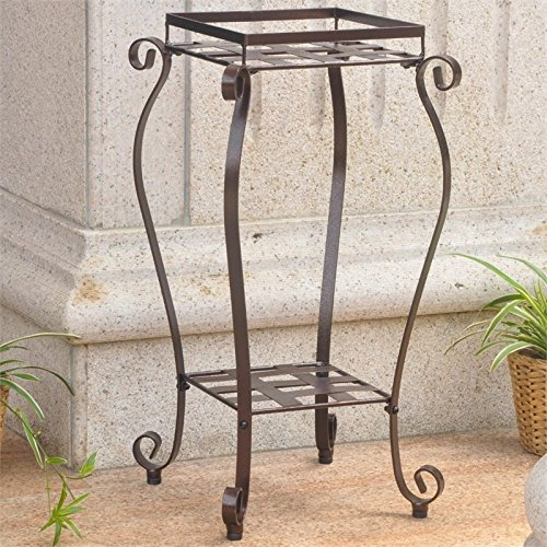 Square Iron Plant Stands - 5