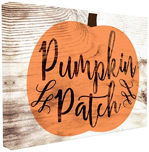 The Stupell Home Décor Collection Pumpkin Patch Halloween