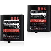 EBL 3.6V 1000mAh Two-Way Radio Rechargeable Battery for Motorola 53615 m53615 KEBT-071-A KEBT-071-B KEBT-071-C KEBT-071-D Talkabout 5950 T4800 T4900 T5000 T5800 T9500R FV500 Series HKNN4002A HKNN4002B Ni-MH 2 Pack