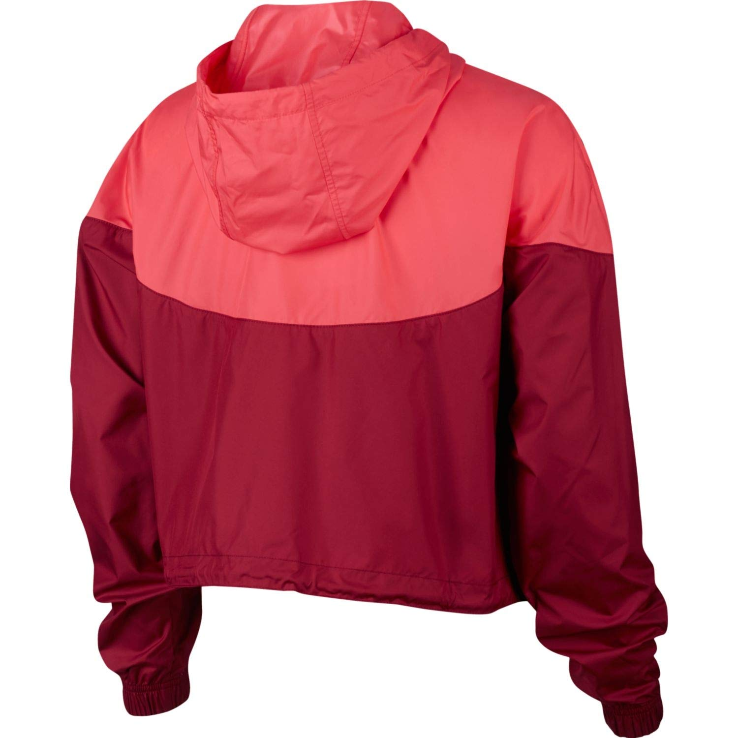 Nike Womens Heritage Windrunner Track Jacket Team Red/Ember Glow/White AR2511-677 Size Small by Nike (Image #2)