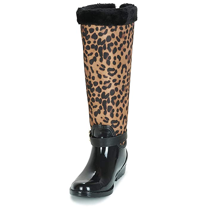 Guess Botas de Agua Negro EU 39: Amazon.es: Zapatos y