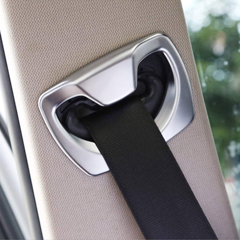 Accessoires de Garniture de Ceinture de sécurité Auto en Plastique ABS pour 3 4 séries F30 F31 F32 F36 2014-2018 Auto-broy