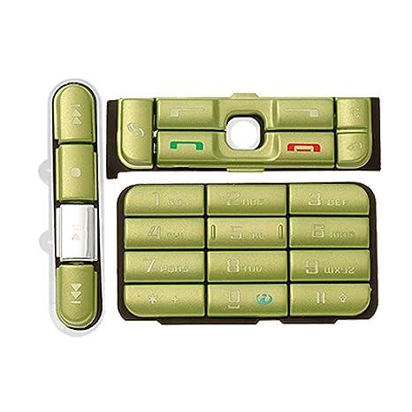Móvil Celular Teléfono Móvil de Reparación teclado Botón para Nokia 3250