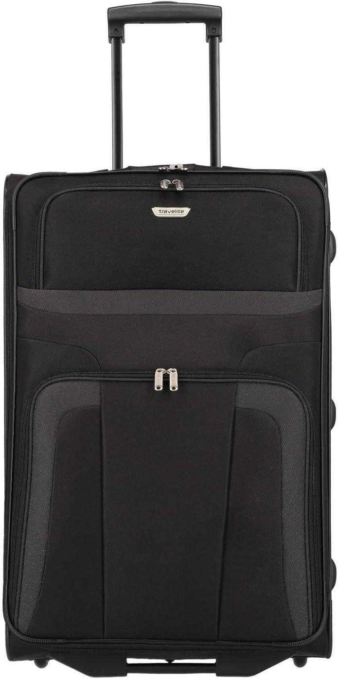 Travelite Trolley para Portátil, 80 litros, 73 cm, Negro