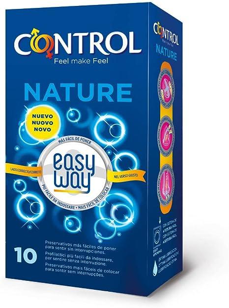 Control Nature Easy Way Preservativos - Pack de 10 preservativos ...