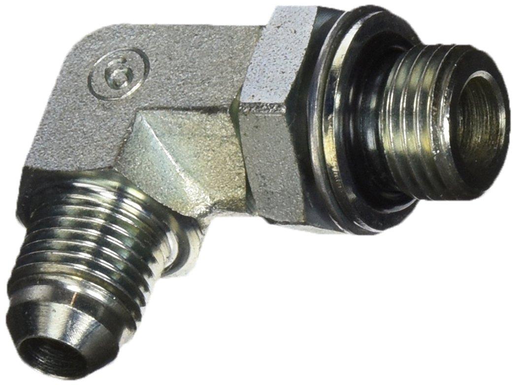 90 Degree Elbow Eaton Weatherhead MC5515X6X16 Carbon Steel SAE 37 Degree JIC M16 Metric Straight Thread Male x 3//8 JIC Male M16 Metric Straight Thread Male x 3//8 JIC Male Flare-Twin Fitting