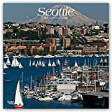 #7: Seattle 2019 12 x 12 Inch Monthly Square Wall Calendar, USA United States of America Washington Pacific West Coast City