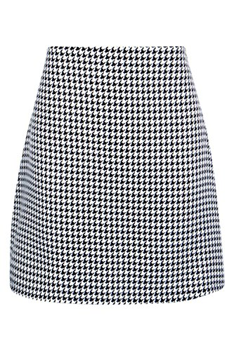 Boohoo Womens Florence Gingham Woven Mini Skirt in Multi size 6