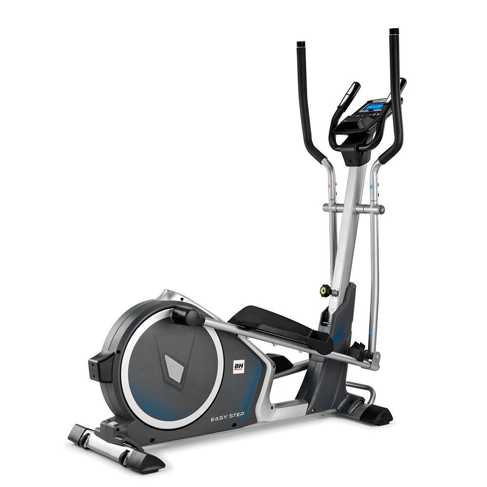 BH Fitness Crosstrainer Ellipsentrainer EASYSTEP DUAL-klappbar-Trainieren mit Apps-14 kg Schwungmasse-24 Widerstandsstufen-G2518W