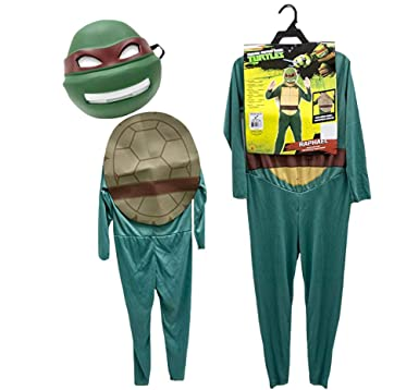 Amazon.com: Teenage Mutant Ninja Turtle Raphael Costume ...