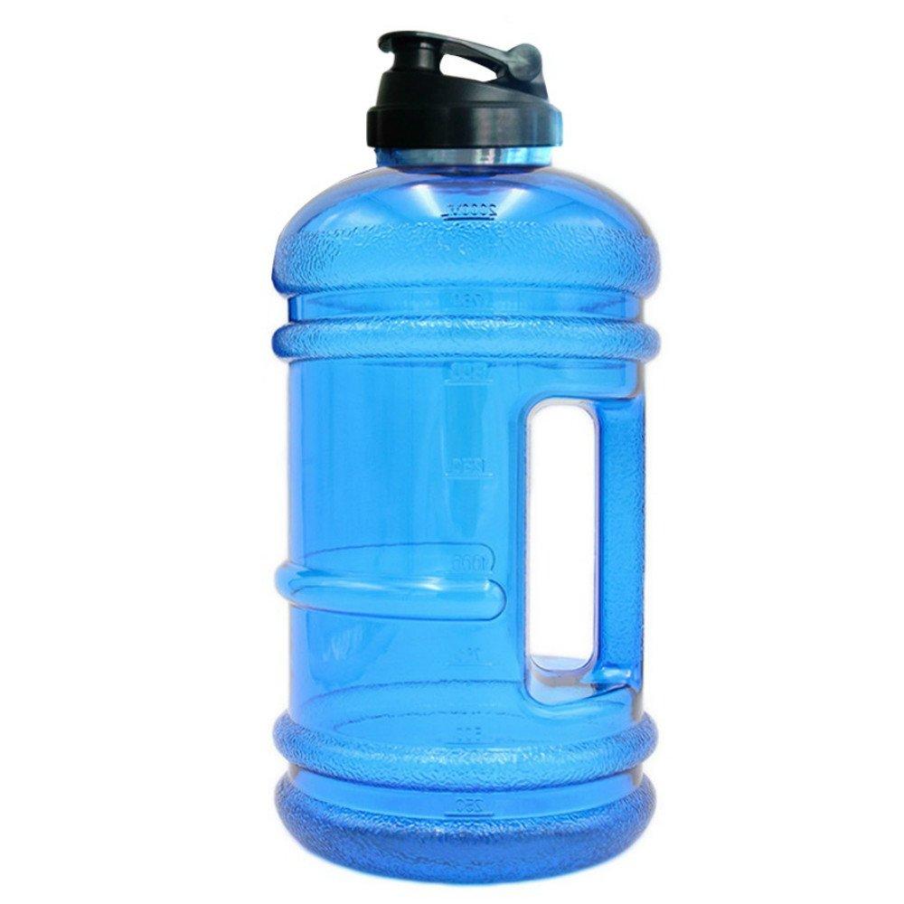 Khsm新しい2.2l Big Big BPAフリースポーツジムトレーニングDrink水ボトル大容量ボイラーfor a Picnic in the Open Air Bike B07CVWCTYG ブルー