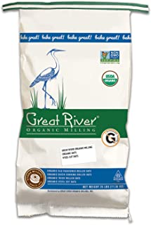 product image for Great River Organic Milling, Oatmeal, Steel Cut Oats, Organic, 25-Pounds (Pack of 1)