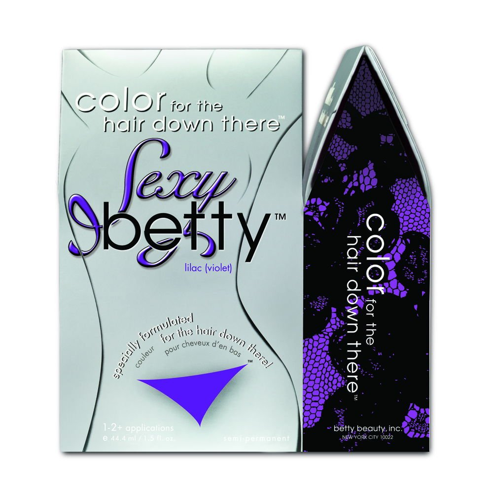 Betty Beauty Color for the Hair Down There - Sexy Betty Lilac (Violet/Purple)