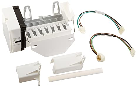 1 - Ice Maker, Replacement for GE(R) OEM WR30X10093, Includes installation Ge Ice Maker Wiring Schematic on