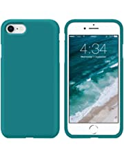 SURPHY Cover iPhone 8, Cover iPhone 7, Custodia iPhone 8 7 Silicone Slim Cover Antiurto con Morbida Microfibra Fodera, Ultra Sottile Cover Case per iPhone 8 iPhone 7 4.7 Pollici