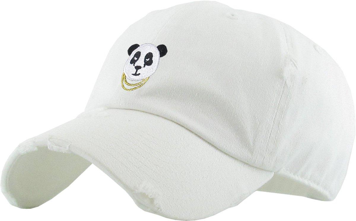 Fashion Dad Hat Baseball Cap Unconstructed Polo Style Adjustable (Adjustable, (052) Black) KBETHOS KBSV-052 BLK