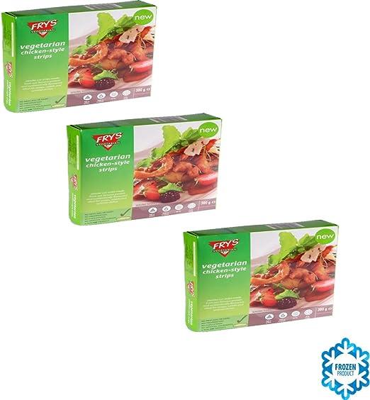 Frys Family Vegetarianos DELICIAS (TIRAS) SABOR A POLLO ...