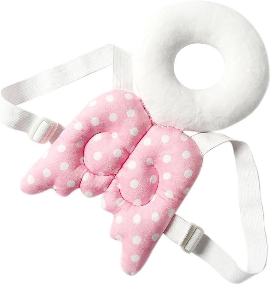 Proteger la cabeza del bebé almohada,Alas de protección infantil ANGTUO Resistencia al bebé linda de cabeza hueca gota almohadilla protectora para los andadores