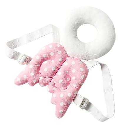 Proteger la cabeza del bebé almohada,Alas de protección infantil ANGTUO Resistencia al bebé linda