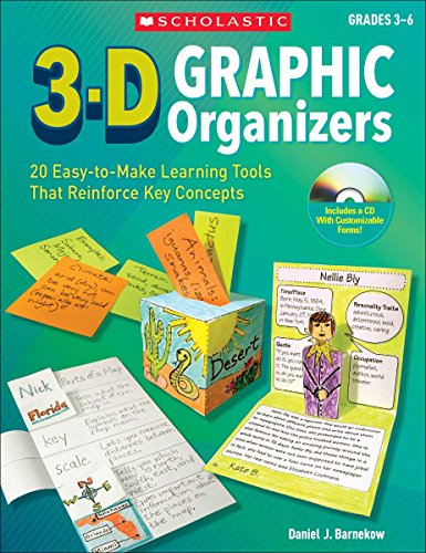 3-D Graphic Organizers: 20 Easy-to-Make Learning Tools th - Easy Organizer