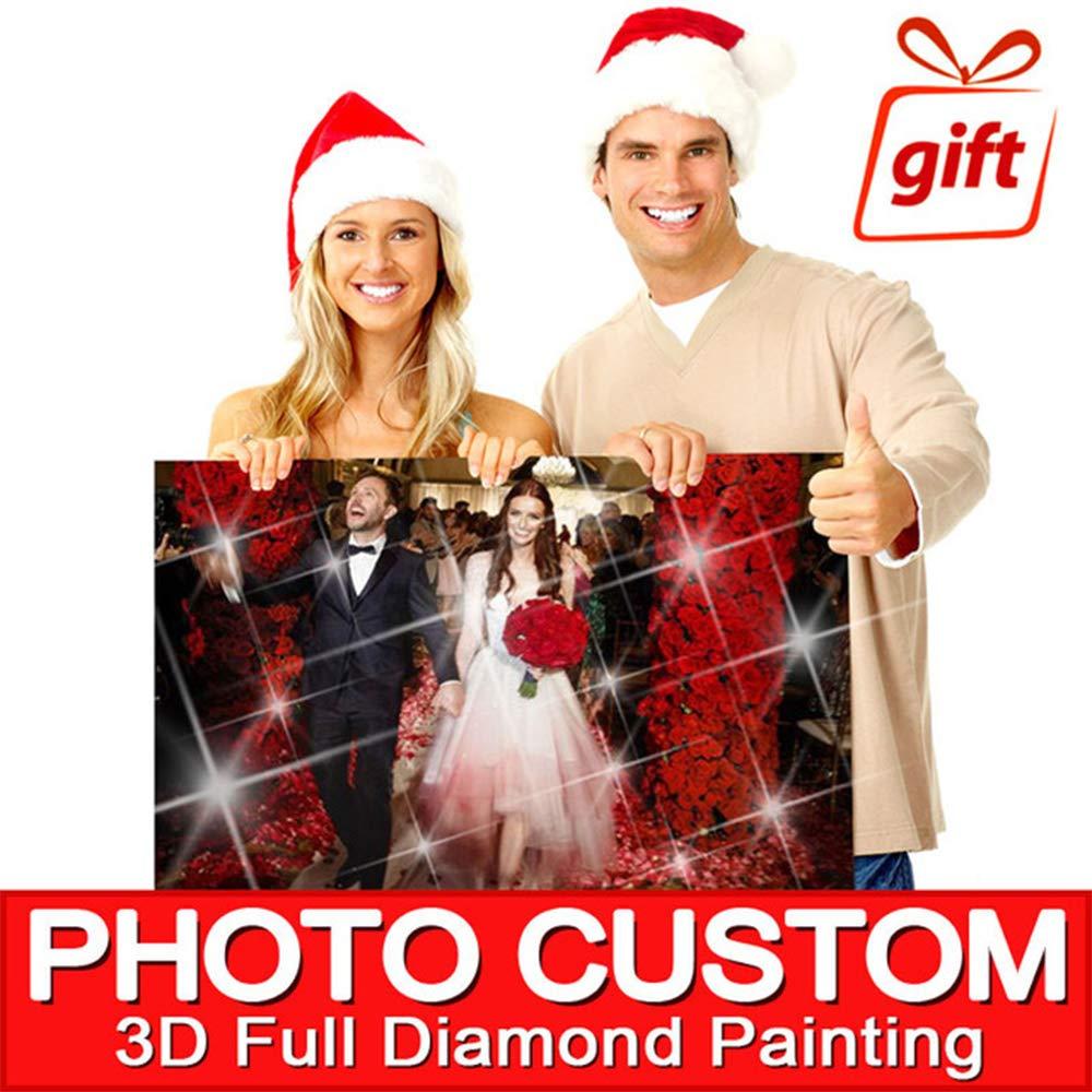 DIY Diamond Painting! Private Custom Photo Custom Make Your Own Diamond Painting Full Round/Square Drill Diamond Embroidery by CRPSEN