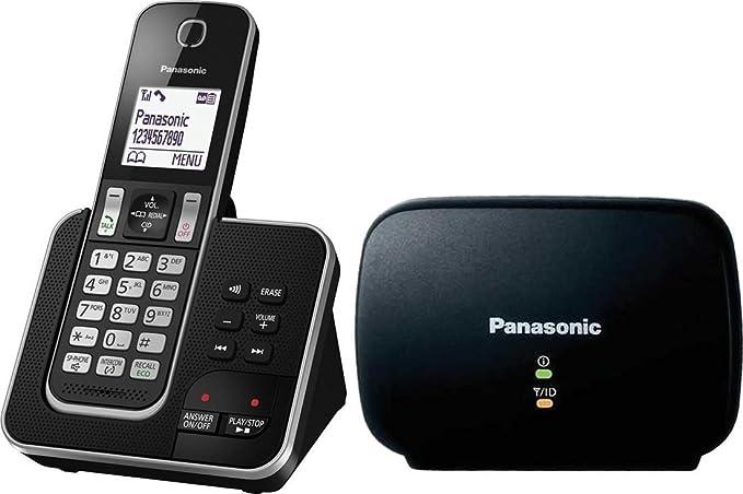 Panasonic kx-tgd320 Long Range Digital teléfono inalámbrico con contestador automático: Amazon.es: Electrónica