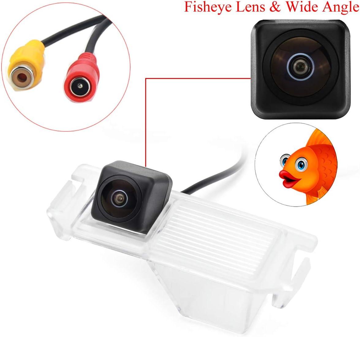 aSATAH Fisheye Lens Car Rear View Camera for Hyundai Elantra Touring//Hyundai i30 //Coupe S3//Tuscani//Tiburon Hyundai Genesis /& Waterproof and Shockproof Reversing Backup Camera Fisheye Lens