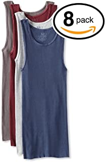 9baa76badf9ece Fruit of the Loom Men s Big and Tall Size Super Value Athletic Shirt(Pack of