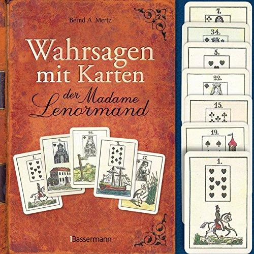 Wahrsagen mit Karten der Madame Lenormand-Set: Mit 36 Lenormandkarten Karten – 25. November 2014 Bernd A. Mertz Bassermann Verlag 3809433721 Tarot