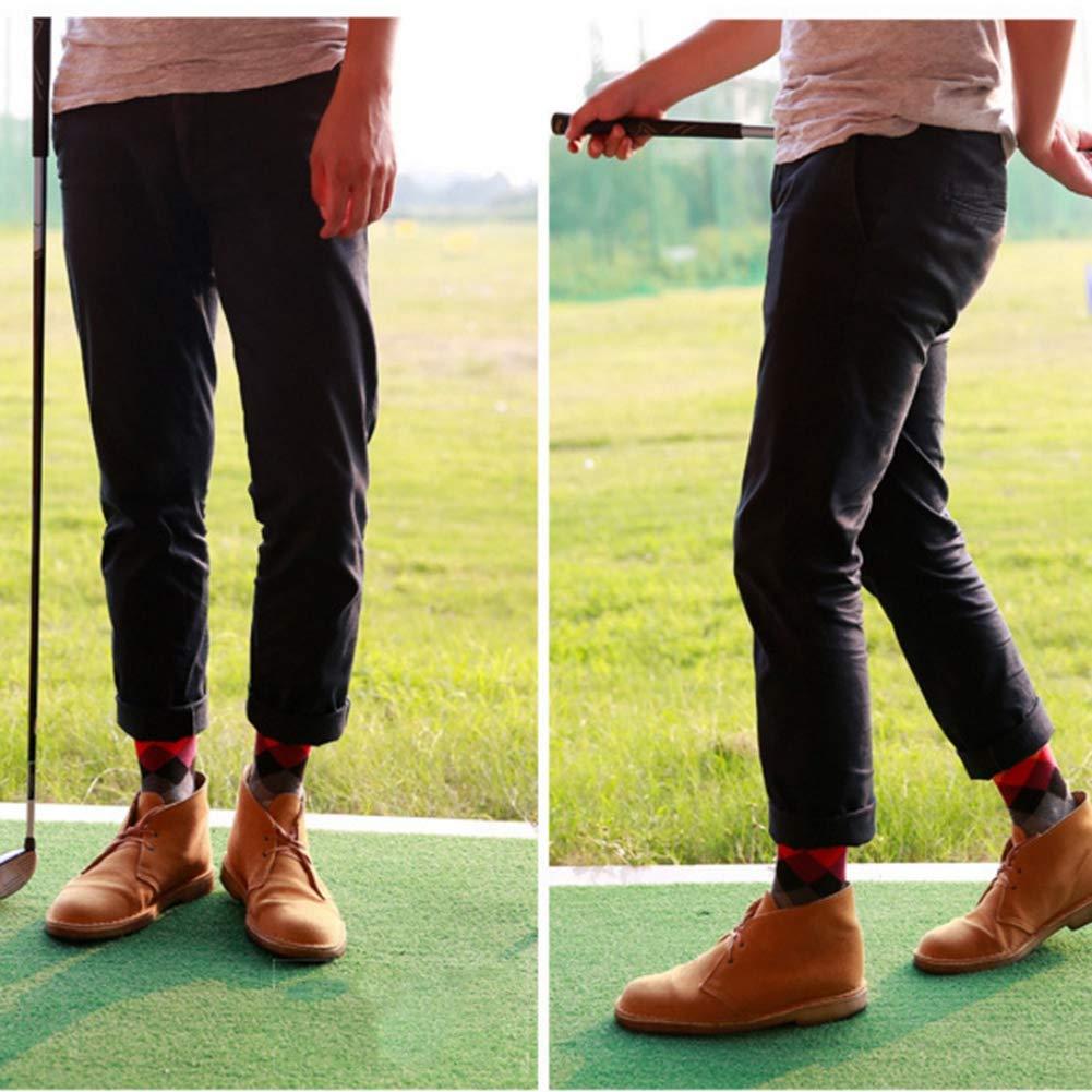 GLOGLOW Socks,Trendy Men Breathable Soft Cotton Dress Socks Anti-Sweat Argyle Colorful Socks