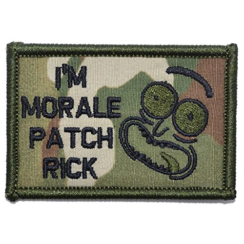 I'm Morale Patch Rick - 2x3 Morale Patch - Multicam