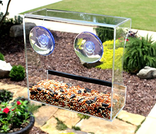 Review CRYSTAL CLEAR BIRD FEEDER