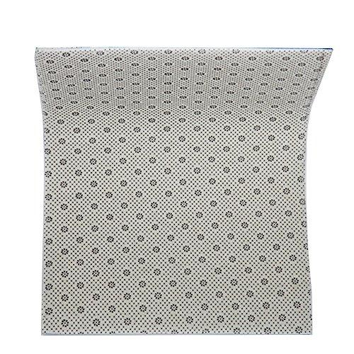 """CHARM HOME Fantastic Doormat Sea Beach Starfish On Fishing Net Door Mat Rug Indoor/Outdoor/Front Door/Bathroom Mats ⫬Bedroom Doormat 23.6""""(L) X 15.7""""(W)"""