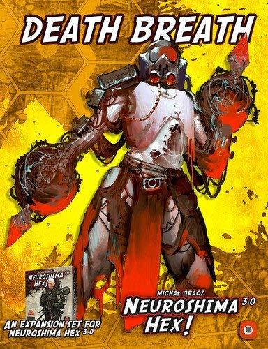 Portal Games Neuroshima Hex Death Breath Board Game [並行輸入品] B07SB339BZ