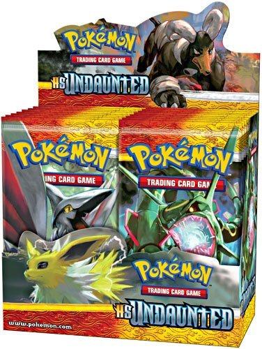 Pokemon Card Game Undaunted (HS3) Booster Box 36 Packs by Pokémon