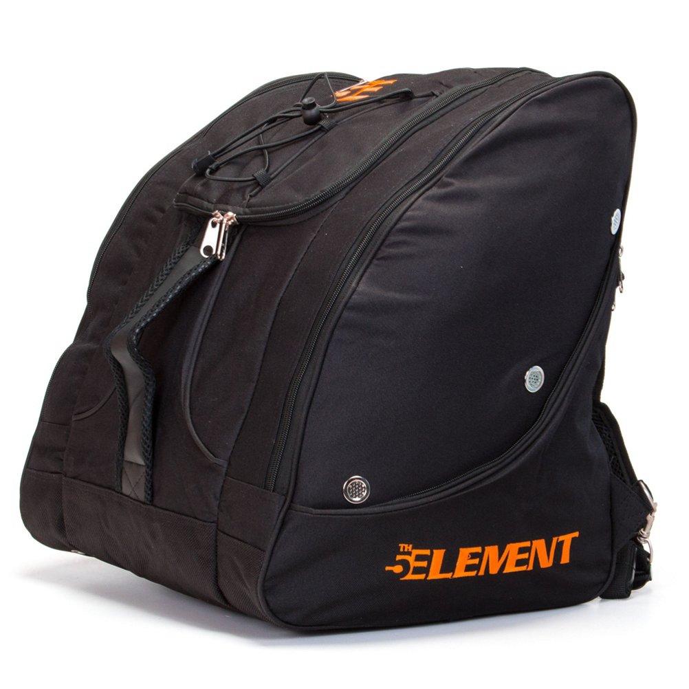 5th Element Bomber Boot Bag B01M0ON1AK ブラック-オレンジ ブラック-オレンジ