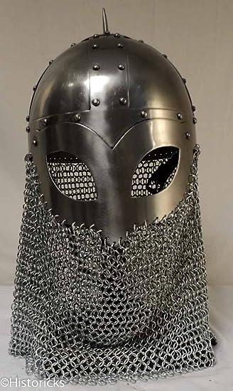 Viking Spectacle C/M Helmet - re-enactment / larp / role-play / fancy-dress