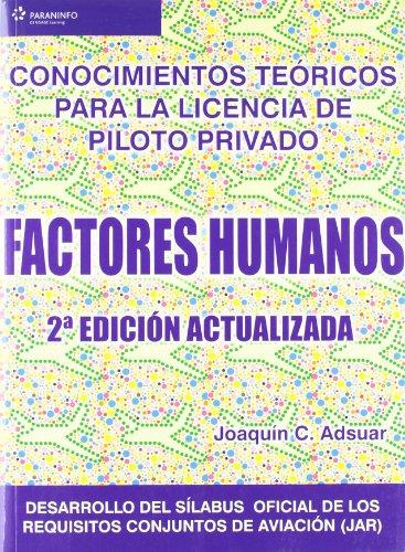 Descargar Libro Factores Humanos Carlos Joaquin Adsuar MazÓn
