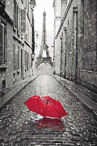 - Merchandise 24/7 Paris Poster Eiffel Tower Umbrella (24