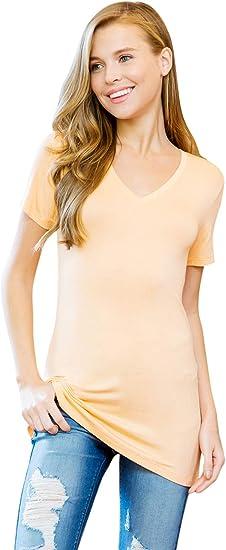 Ladies Basic Soft Mocha Brown Crew Neck Long Sleeve Jersey Top New 10-12