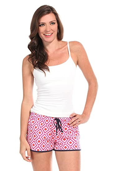 3a7e4e2129 Amazon.com  Malabar Bay Women s Hopi Boxer Extra-Large Pink  Clothing