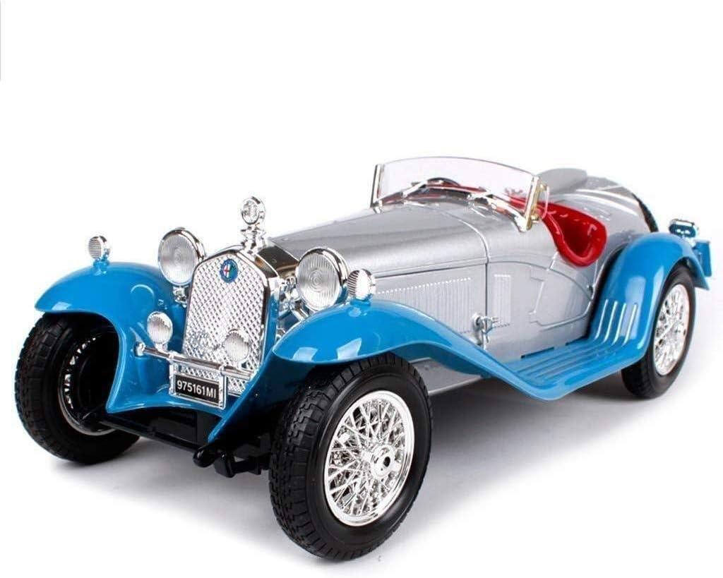 TZSMCMX モデルカーアルファロメオ午前1時18分シミュレーションダイカスト合金のおもちゃの車レトロクラシックカーモデル