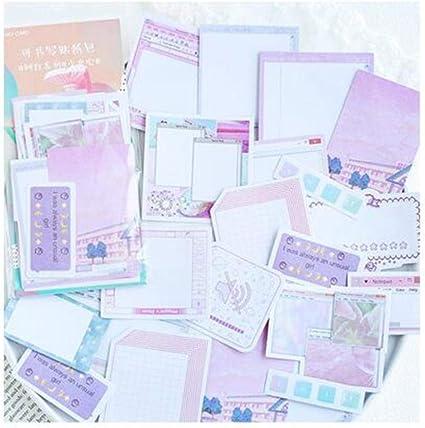45 Unids/pack Lindo Plan Semanal Notas Adhesivas Bloc de Notas ...